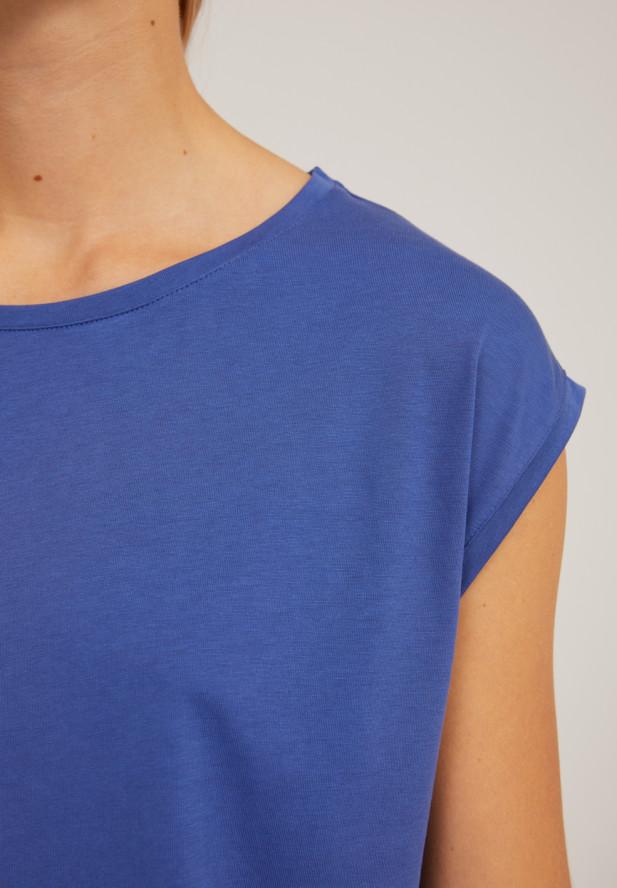 Armedangels  JILAA T-Shirt aus TENCEL™ Lyocell Mix deep ultramarine