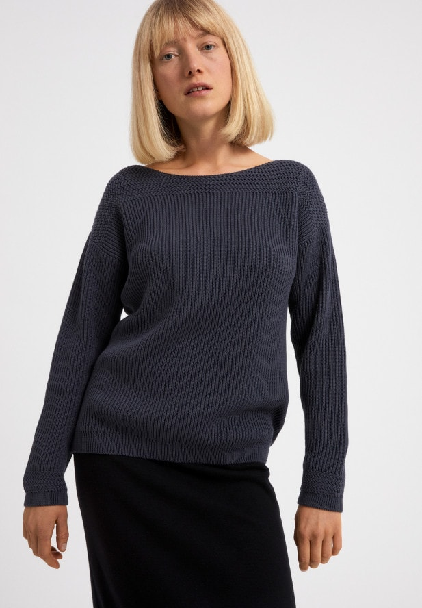 Armedangels  RAACHELA EARTHCOLORS® Pullover aus Bio-Baumwolle natural Indigo