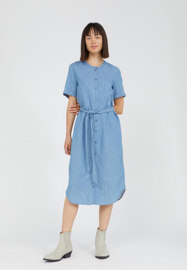 Armedangels  MAARE Kleid aus Bio-Baumwoll Mix und Leinen