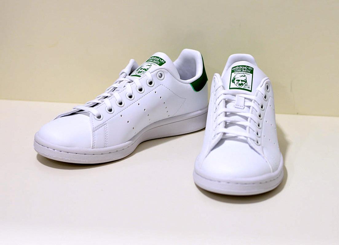 Adidas Stan Smith Damen Sneaker weiss / grün aus recycekten Material
